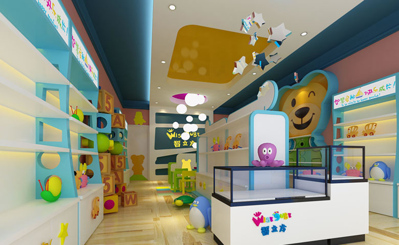 郑州简约实用的幼儿园装修效果图