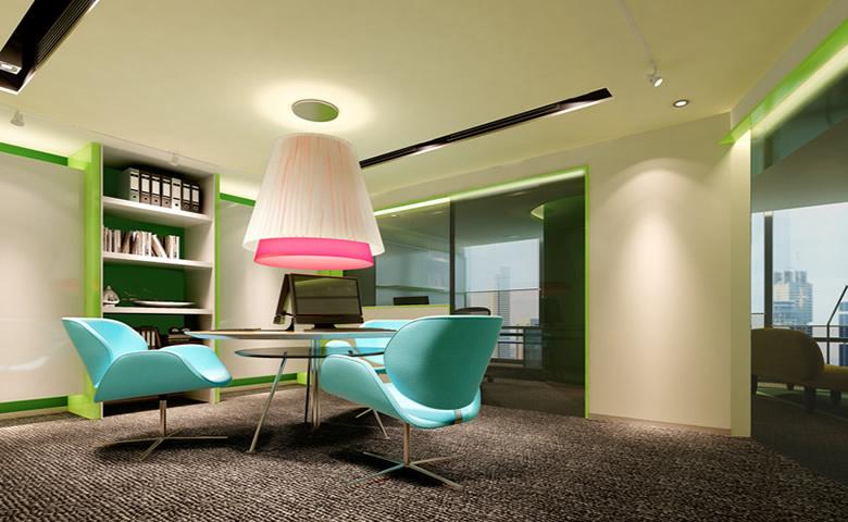 郑州小型办公室装修效果图