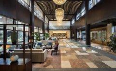 郑州中式风格酒店大堂装修效果图