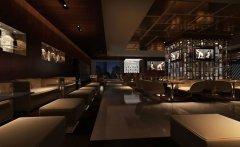 郑州现代风格西餐厅装修效果图