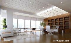 郑州3000平米办公楼装修怎么了解装修效果如何