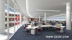 郑州二七区270平办公室装潢设计?