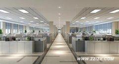 郑州办公室装修不规则的横梁如何处理?